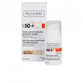 cc cream anti manchas tono claro spf50 30 ml