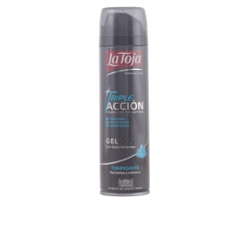 gel afeitar triple acción tonificante 200 ml