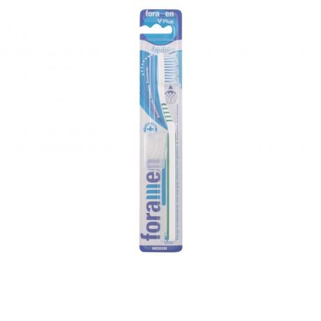 v plus cepillo dental medio 1 pz