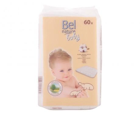 nature maxi discos bebé algodón 100 orgánico 60 pz