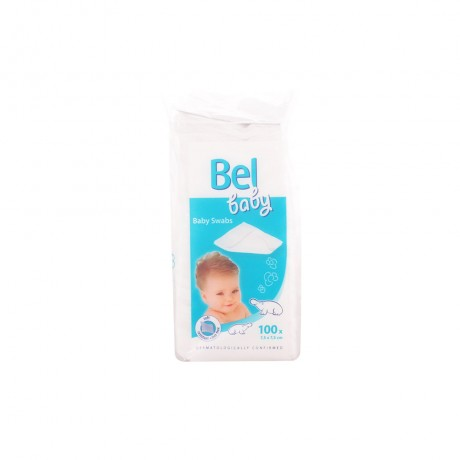 bel baby gasas no tejidas 100 pz