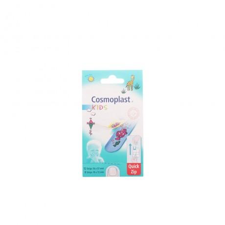 cosmoplast apósitos infantiles quick zip 20 uds