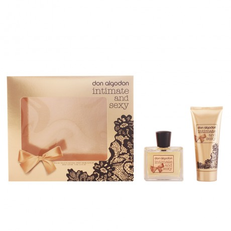 don algodon intimate sexy lote 2 pz