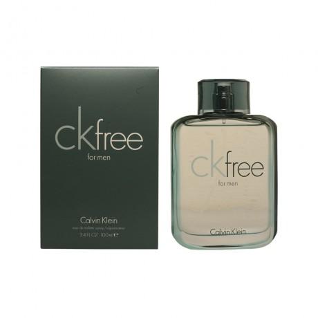 ck free edt vaporizador 100 ml