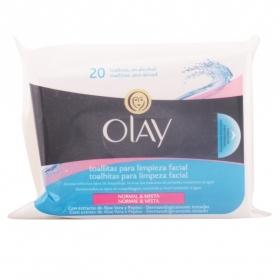 essentials toallitas desmaquilladoras hidratantes pn 20 uds