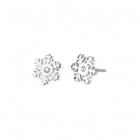 Brincos em aço inox 316L com cristais