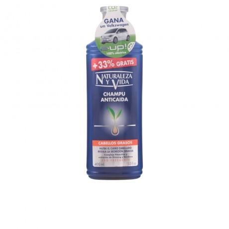 champú anticaída cabello graso 300 100 ml