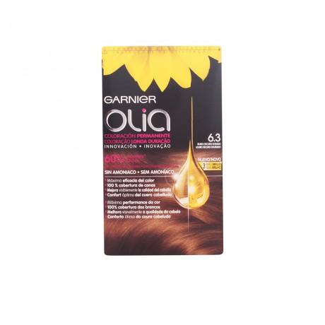 olia coloración permanente 63 rubio oscuro dorado 4 pz