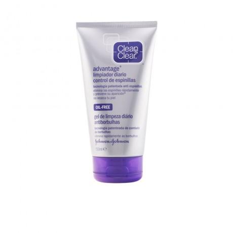 clean clear advantage gel limpiador 150 ml