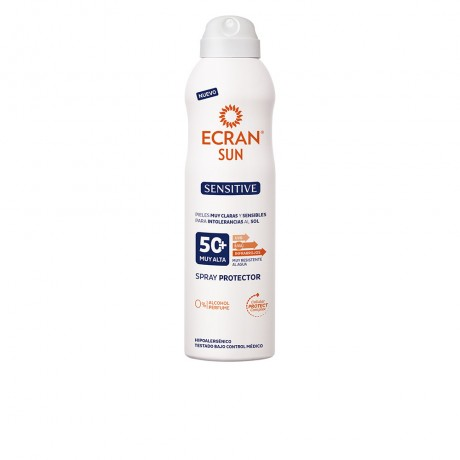 sun lemonoil sensitive spray spf50 250 ml