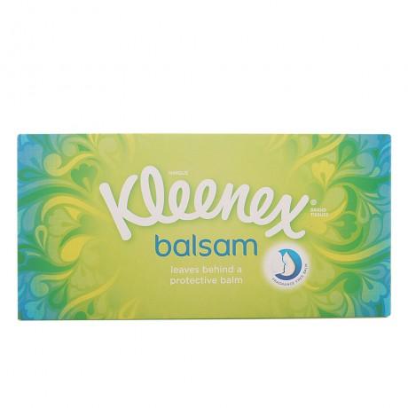 kleenex pañuelos balsam 80 uds