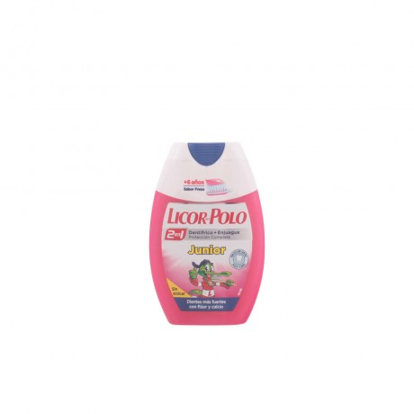 junior 6 años dentífrico 2en1 sabor fresa 75 ml
