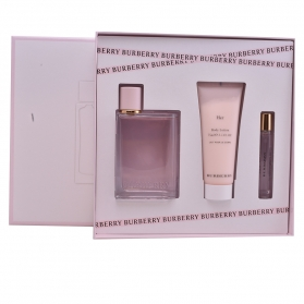 burberry her lote 3 pz