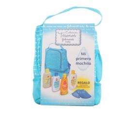 baby mochila azul lote 5 pz