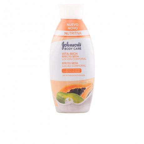 vita rich efecto seda papaya loción corporal 400 ml