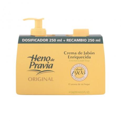 heno de pravia crema jabón dosificadorrecambio 250 ml