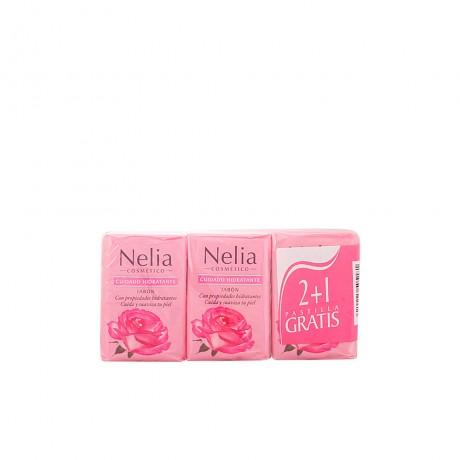 agua de rosas jabón lote 3 pz