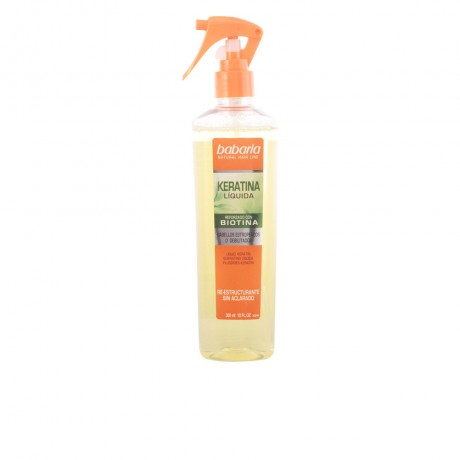 natural hair line keratina líquida reforzada biotina 300 ml