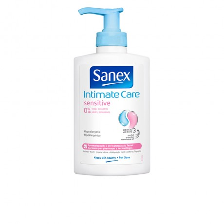 intimate care zero piel sensible jabón íntimo 250 ml