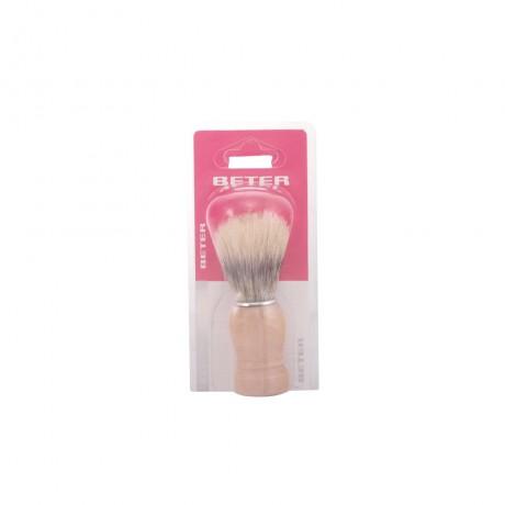 brocha de afeitar mango madera 1 pz