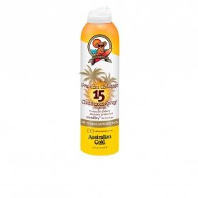 premium coverage spf15 continuous spray 177 ml