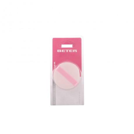 esponja aplicadora cosmética doble polvos 1 pz