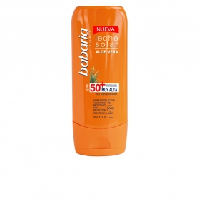 solar aloe vera leche solar spf50 muy alta 150 ml