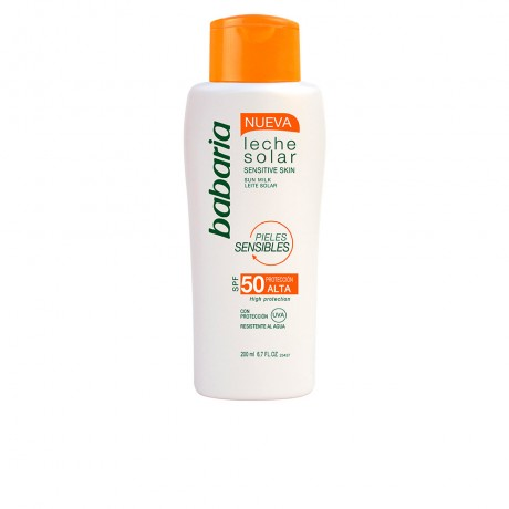 solar piel sensible leche solar spf50 200 ml