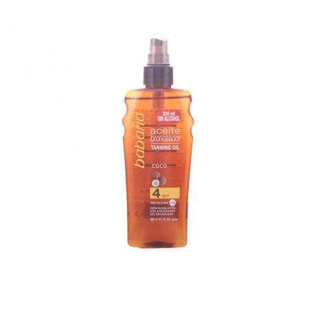 solar aceite coco vaporizador spf4 200 ml