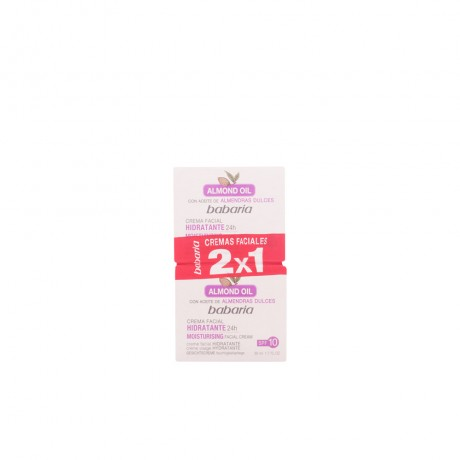 aceite almendras dulces crema facial hidratante lote 2 pz