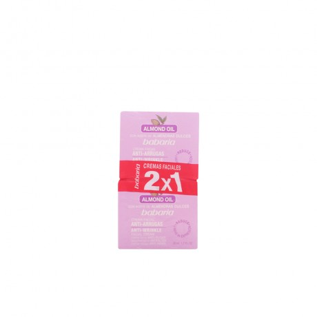 aceite almendras dulces crema facial antiarrugas lote 2 pz