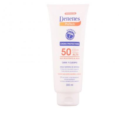 denenes sol protech crema cara cuerpo spf50 300 ml