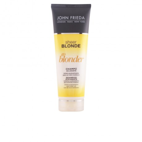 sheer blonde champú aclarante cabellos rubios 250 ml