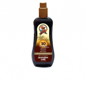 sunscreen spf10 spray gel with instant bronzer 237 ml
