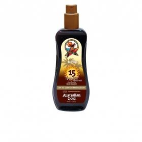 sunscreen spf15 spray gel with instant bronzer 237 ml