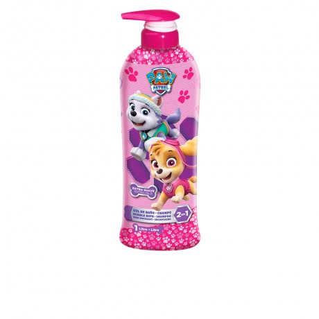 patrulla canina rosa gel champú 2en1 1000 ml