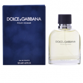 dolce gabbana pour homme edt vaporizador 125 ml