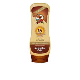 sunscreen spf15 lotion with bronzer 237 ml