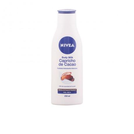 capricho de cacao body milk piel seca 250 ml