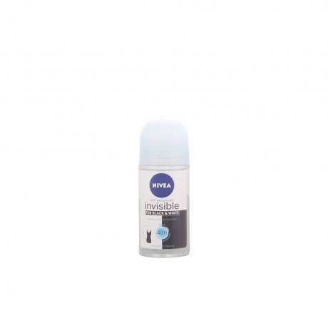 black white invisible pure deo roll on 50 ml