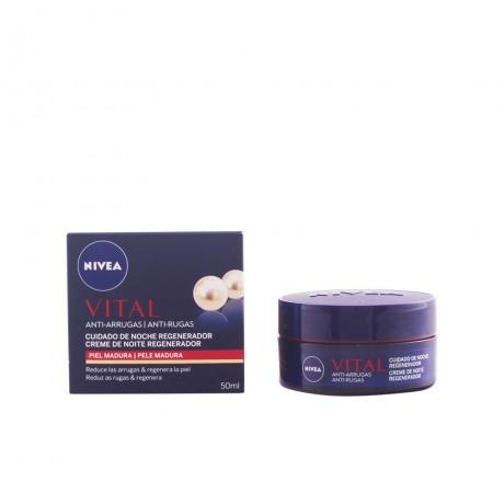 vital crema noche regeneradora piel madura 50 ml