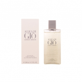 acqua di gio homme gel de ducha shampoo 200 ml