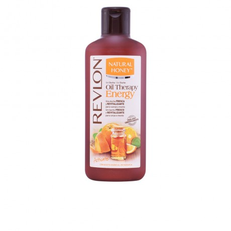 oil therapy energy aceite esencial naranja gel 650 ml