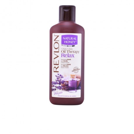 oil therapy relax aceite esencial lavanda gel 650 ml