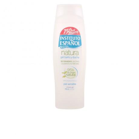 natura gel de ducha piel sensible 750 ml