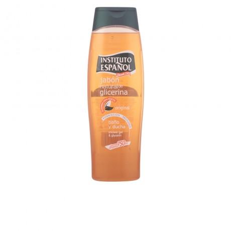 jabon natural glicerina baño y ducha 750 ml